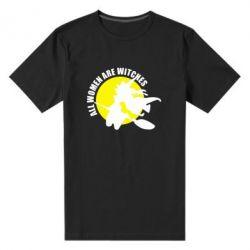 Мужская стрейчевая футболка Все женщины - ведьмы