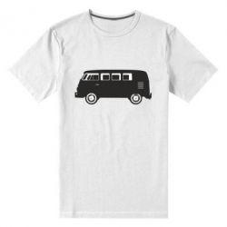 Мужская стрейчевая футболка VV - FatLine