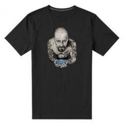 Мужская стрейчевая футболка Walter White with meth - FatLine