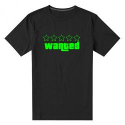 Мужская стрейчевая футболка Wanted - FatLine