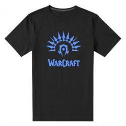 Мужская стрейчевая футболка WarCraft Logo - FatLine