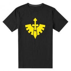 Мужская стрейчевая футболка Warhammer 40k Dark Angels - FatLine