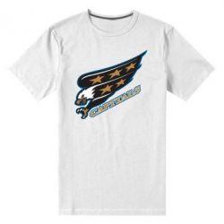Мужская стрейчевая футболка Washington Capitals Logo