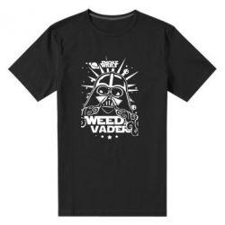 Мужская стрейчевая футболка Weed Vader - FatLine