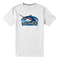 Мужская стрейчевая футболка Williamson - FatLine