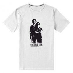Мужская стрейчевая футболка Winchester Bros - FatLine
