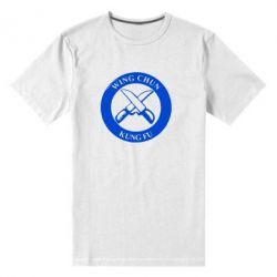 Мужская стрейчевая футболка Wing Chun kung fu - FatLine