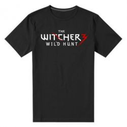 Мужская стрейчевая футболка Witcher 3 Wild Hunt - FatLine