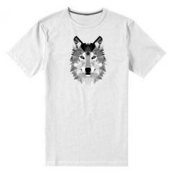 Мужская стрейчевая футболка Wolf Art - FatLine