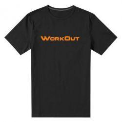 Мужская стрейчевая футболка Workout - FatLine