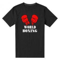 Мужская стрейчевая футболка World Boxing - FatLine