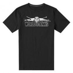Мужская стрейчевая футболка World of Tanks - FatLine