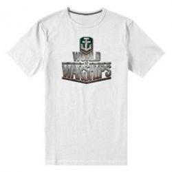 Мужская стрейчевая футболка World of Warships - FatLine