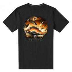 Мужская стрейчевая футболка WoT Art - FatLine