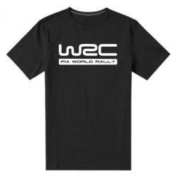 Мужская стрейчевая футболка WRC - FatLine