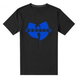 Мужская стрейчевая футболка Wu-Tang forever - FatLine