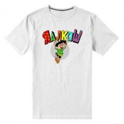Мужская стрейчевая футболка Яалкаш - FatLine