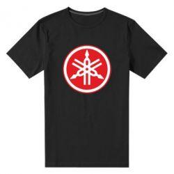Мужская стрейчевая футболка Yamaha Big Logo - FatLine