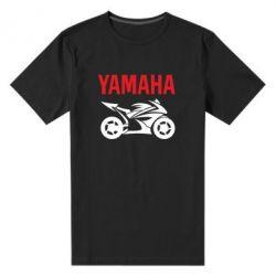 Мужская стрейчевая футболка Yamaha Bike - FatLine