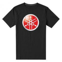 Мужская стрейчевая футболка Yamaha Logo 3D - FatLine