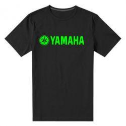 Мужская стрейчевая футболка Yamaha Logo - FatLine