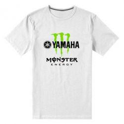 Мужская стрейчевая футболка Yamaha Monster Energy - FatLine