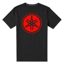 Мужская стрейчевая футболка Yamaha - FatLine