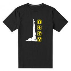 Мужская стрейчевая футболка Yoga - FatLine