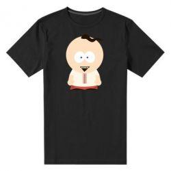Мужская стрейчевая футболка Запорізький козачок