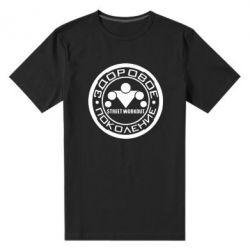 Мужская стрейчевая футболка Здоровое поколение Street Workout