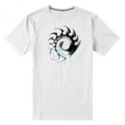 Мужская стрейчевая футболка Zerg Symbol - FatLine