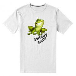 Чоловіча стрейчова футболка Жабка - FatLine