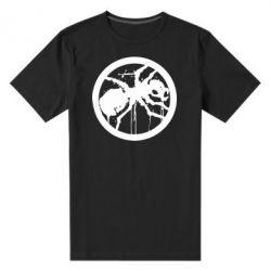 Мужская стрейчевая футболка Жирный муравей
