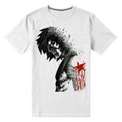 Мужская стрейчевая футболка Зимний солдат - FatLine
