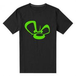 Мужская стрейчевая футболка Злой мишка - FatLine