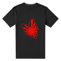 Мужская стрейчевая футболка Значек JDM - FatLine