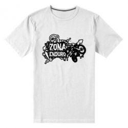 Мужская стрейчевая футболка Zona Enduro - FatLine