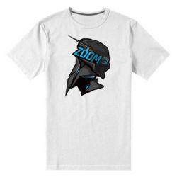 Мужская стрейчевая футболка Zoom