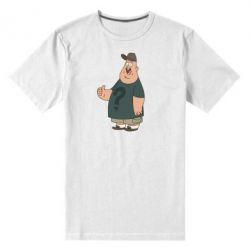 Мужская стрейчевая футболка Зус - FatLine