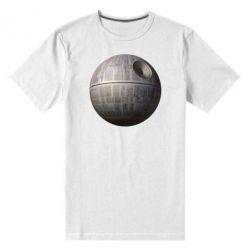 Мужская стрейчевая футболка Звезда смерти - FatLine