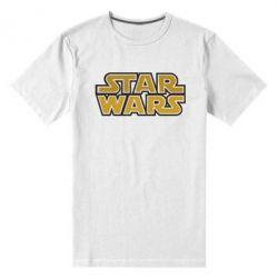Мужская стрейчевая футболка Звездные войны - FatLine