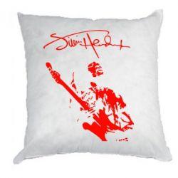 Подушка Jimi Hendrix афтограф - FatLine