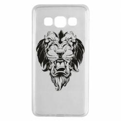 Чехол для Samsung A3 2015 Muzzle of a lion