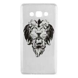 Чехол для Samsung A7 2015 Muzzle of a lion