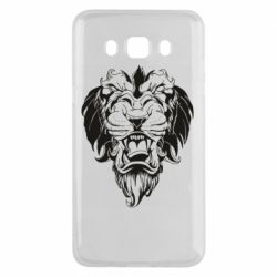 Чехол для Samsung J5 2016 Muzzle of a lion