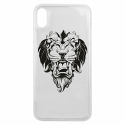 Чохол для iPhone Xs Max Muzzle of a lion