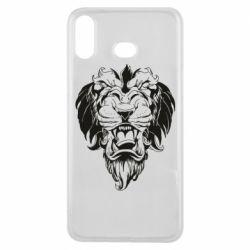 Чехол для Samsung A6s Muzzle of a lion