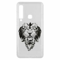 Чехол для Samsung A9 2018 Muzzle of a lion