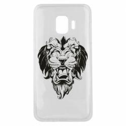 Чехол для Samsung J2 Core Muzzle of a lion