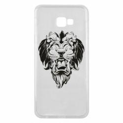 Чехол для Samsung J4 Plus 2018 Muzzle of a lion